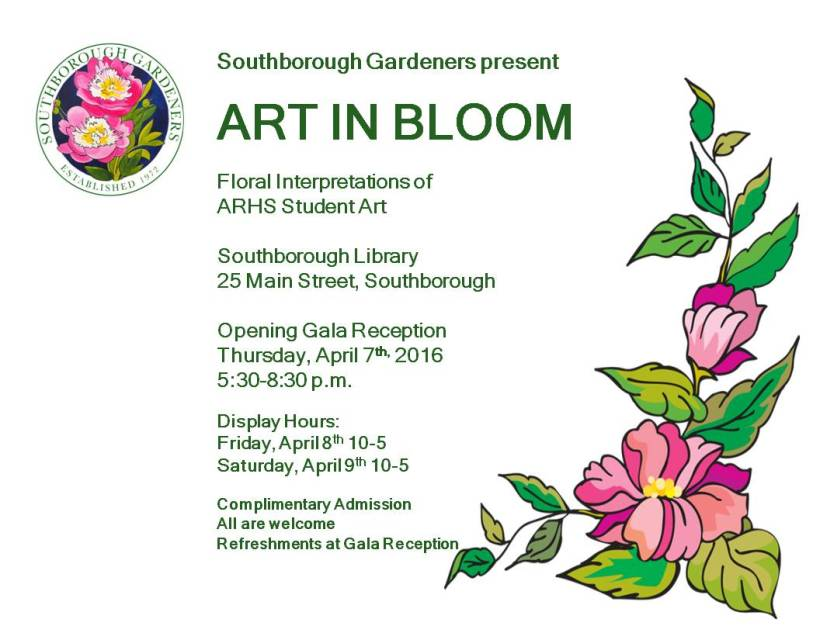 ART IN BLOOM FLYER Final 2016