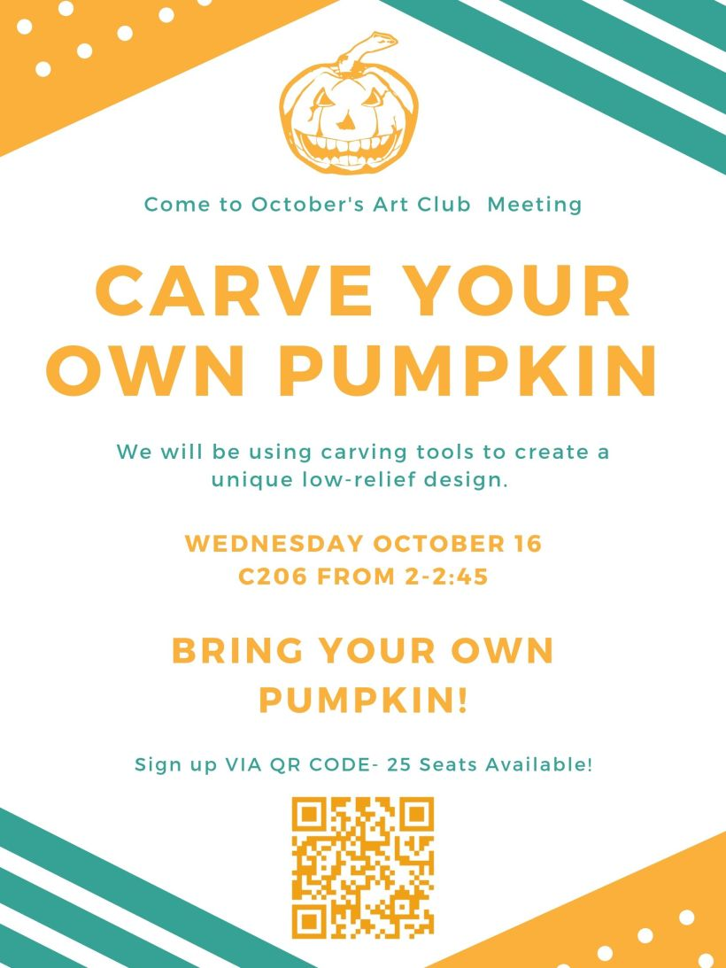 October Art Club Meeting